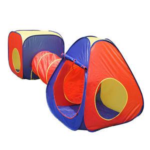 Cort de joaca cu tunel 3 piese