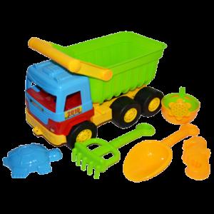 Camion cu accesorii pentru nisip