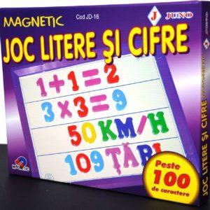 Joc magnetic litere si cifre Juno