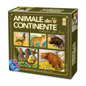 ANIMALE DIN CONTINENTE – EDITIE DE LUX