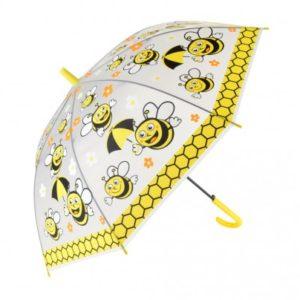 Umbrela pentru copii cu modele haioase