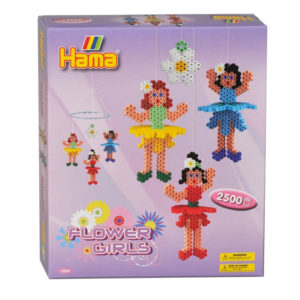 Jucarie creativa  Hama  Flower girls 2500 pcs