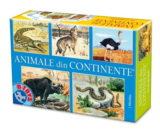 Joc de societate  Animale din Continente