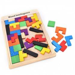 Jucarie tetris din lemn