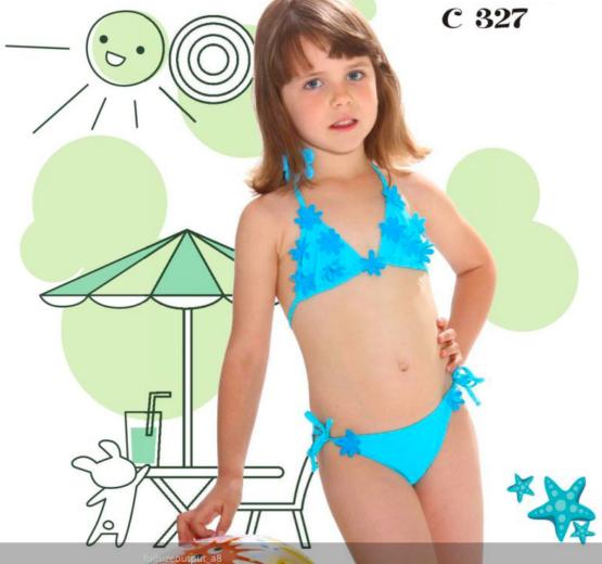 Costum de baie pentru fetite Jolidon C327U