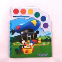 Caiet de colorat cu acuarele Mikey Mouse