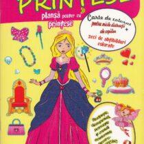 Carte de activitati-Coloram si imbracam princesse