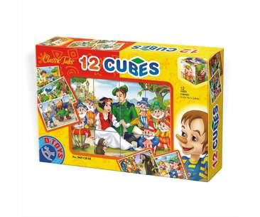 12 cuburi cu basme