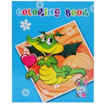 Carte de colorat 24 de file format A4