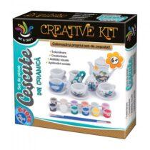 Creative kit coloreaza-ti propriul set de cescute