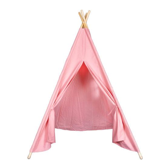 Cort Teepee roz pentru fetite