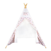 Cort tip indian Teepee, Alb-Roz